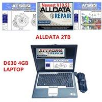 Todos os dados 10.53 Auto Repair Soft-Ware ALLDATA MIT 2015 Soft-Ware ATSG 3IN1 1TB HDD instalado no laptop D630 4G RAM