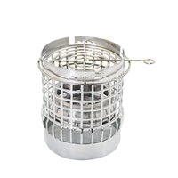 Metal Hookah Wind Cover Coal Windproof Cover With Shisha Charcoal Holder Chicha Narguile Hose Accessories
