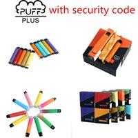 E-sigarette monouso 88 Colori Puff Bar Plus Vape Bars 3.2ml Pod Pod Pod 550mAh Battery Style Dispositivo portatile
