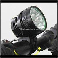 دراجة دراجة أضواء المصباح 34000 LM 14X كري T6 led 3 طرق دراجة مصباح دراجة ضوء العلوي الدراجات الشعلة 213 W2 UZX2Z XQNZA
