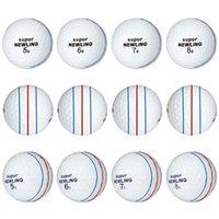 Golf Balls 12 Pcs Supur Ling Two Layers Three Super Long Distance Ball