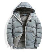 Pluizige kleding jassen gans down verwarmd heren stijl zwart kogeljack winter teddy jas mode merk hoge kwaliteit