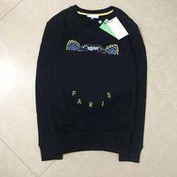 2021 Men's and Women's Crewneck Hoodie Cotton Color Color Embroidery Pullover 8 tipi di felpe stile Ship ship