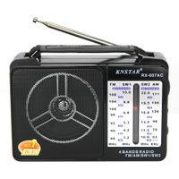 RX-607AC Radio 4-Band Radio FM / AM / SW1 / SW2 Mini conférencier portatif rétro pour les femmes âgées hommes enfants avec antenne de poignée