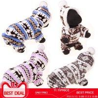 Dog Apparel Designer Soft Winter Warm Pet Clothes For Small Dogs Deer Cotton Puppy Sweatshirt Coat Jacket
