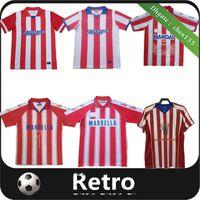 Rétro Atletico Madrid 2004 05 Jerseys de football 1994 1994 1997 1997 2013 14 F.Torres Accueil Rouge Blanc Vintage Camiseta de futbol Men Classic Commemorer maillot de football
