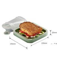 NewsAndwich 점심 도시락 야외 음식 가방 토스트 오후 티 학생 회사 사무원 벤토 박스는 전자 레인지 EWA4912에 넣을 수 있습니다