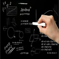 School Blackboard Sticker Removable Vinyl Rescalable Research Board Message Wall Children toy education 45x100cm (Without Chalk)