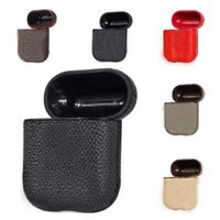 Designer Luxury PU Leather Case For AirPods Pro Cases Protective Cover Hook Clasp Keychain Anti Lost Fashion Earphone Shell