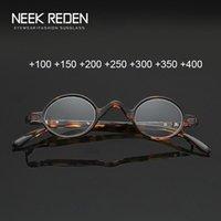 Kleine Runde Lesebrillen Ultra Light Mini A Presbyopic Gläser Frauen Männer Lupe Brillen Dioptrien +1,0 +2,0 +2.5 +4.0 Sonnenbrillen
