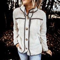 Fashion Women Autumn Winter Fleece Warm Top Long Sleeve Coat And Jackets Elegant Ladies Loose Cardigan Sweater Streetwear Women's