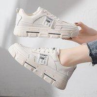 Les chaussures blanches à la mode sont en vente cette année, des chaussures de sport de grande taille décontractées pour femmes, des chaussures de sport pour femmes