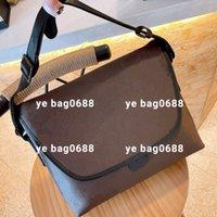 Designer Men Messenger Briefcase di lusso borse a croce borsa per computer grande business plaid in vera pelle viaggio a tracolla singola borse di alta qualità