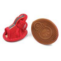Marca Summer Winter Protective Pet Shoes para pequeños perros medianos Gatos Impermeable Transpirable Malla transpirable Calcetines QYLRGB BDE_LUCK 2202 V2