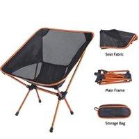 여행 야외 접이식 의자 울트라 라이트 고품질 캠핑 휴대용 해변 하이킹 피크닉 좌석 낚시 도구 액세서리