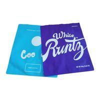 1 libra bolsa c blanca runtz 16oz gran olor empaquetado mylar bolsas de pie Paquete de la bolsa Real polvo a prueba de polvo DHL gratis