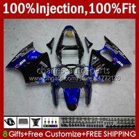 Инъекционные формы Bodys для Kawasaki Ninja 600cc ZZR600 05 06 07 08 Codework 38HC.74 100% Fit ZZR-600 600 CC 05-08 ZZR 600 2005 2006 2007 2008 OEM Обтекивает комплект заводской синий черный
