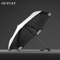 Зонтики Olycat Цветочный стиль складной зонтик творческий 6к алюминиевая ультрафиолетовая защита и ветрозащитные детские женские