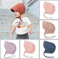 Baby Hats Spring Autumn Cotton Peaked Cap Newborn Hat Kids Boys Girls Accessories 0-6Y B5730