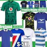 2021 Dünya Kupası İrlanda Rugby Formalar Fransa Süper Arjantin Jersey Maillot De Ayak Fransız Boln Gömlek Yelek Şort