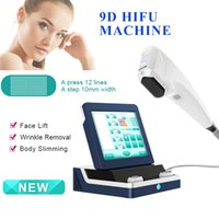 9D Hifu machine Ultrasound Wrinkle Removal Face Lifting equipment skin tightening 8 cartridges 11 lines 2 years warranty