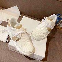 إمرأة أزياء شل عارضة أحذية جودة حقيقي الجلود النسيج التقنية العجل المطاط مصمم الحديثة لاصق اللسان رياضة أحذية الدانتيل متابعة المشي