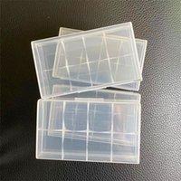 Taşınabilir Plastik Pil Kılıf Kutusu Güvenlik Tutucu Saklama Kabı Paketi Piller için 2 * 18650 veya 4 * 18350 Lityum İyon Pil E Çiğ 458 R2