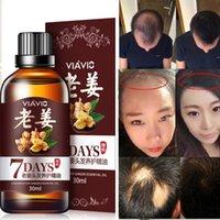 Hot 30ml Magic Magic Fast Pein Frente denso Regrecimiento denso Ginger Suero Suero Anti Pérdida Tratamiento Essence Bin Silvity Hair Crecimiento Herramientas Cuidado del cabello