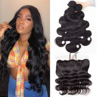 Alinybeauty Body Wave HD Transparent Lace Closure,Virgin Hair With Frontals, 100% Unprocessed Human Hair With Lace Frontals