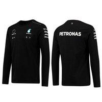 Sweatshirts de Petronas Mercedes AMG F1 FORMULA ONE RACING MENS FEMMES Femmes Casual Sweat à manches longues Benz Lewis Hamilton Team Work Vêtements Sweat-shirt
