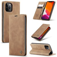 Case original Matte Matte Carte de crédit en cuir Portefeuille de téléphone pour Samsung A32 (5G) A20S Note20Lite S21 Cover Cover