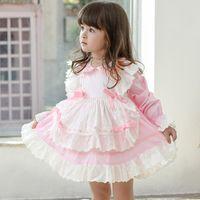 Children's dress summer Spanish court baby Lolita princess skirt cute girl