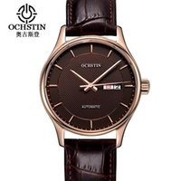 Ochstin Time-limited Men Mechanical Watch Montre Homme Mens Watches Top Leather Automatic Women Clock Hour Wristwatches