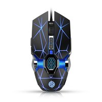 Pro Gamer Gaming Mouse 3200DPI Adjustable Wired Optical LED Computer Mice USB Cable Silent for Laptop PC pad Tablet 210609