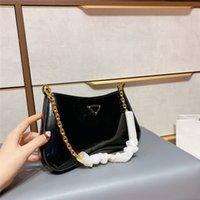 Bolsa de hombro Mujeres Lujos Diseñadores Bolsas 2021 Bolsos Monederos Moda Marca Totes de mujer Patente de cuero 210113V