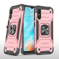 Military Grade Armor Cases with Magnetic Ring Kickstand For Samsung A01 A11 A12 A22 A32 A42 A52 A72 A02S