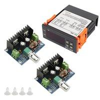 Herramientas 1 PCS Termostato de controlador DIGITAL STC-1000 con sensor 2pcs XL4016E1 Tablero de regulación de presión de alta potencia DC