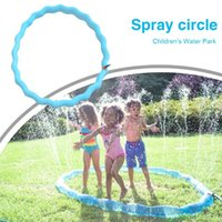 Piscine accessoires enfants pelouse sprinkler cerceau bague pvc gonflable natation eau splash extérieure arrière-cour pulvérisque jeu jouets