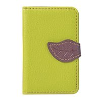 Card Holders Unisex Holder Back Adhesive Wallet Mobile Fashion Phone Outdoor PU Leather Case Credit Bags Purse Stick On Portable
