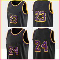 Los 2021 Angeles 23 Jersey 2 4 Top Black