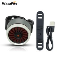 Bike Lights Wasafire Smart 5 Modes Light Bicycle Tail USB Rechargeable Rear Lamp Safety Warning Taillight Cycling Accessory
