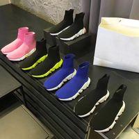 Gestrickte elastische Socken Stiefel Frühling Herbst Klassiker Sexy Gym Casual Frauen Schuhe Mode Plattform Männer Sport Boot Lady Reise Dicke Turnschuhe Große Größe 35-42-45 US4-US11