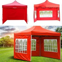 Tents And Shelters Tent Cloth Outdoor Folding Waterproof Rainproof Gazebo Side Panel Fit For Most Fast Delivery