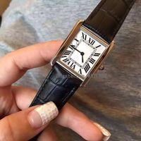 Montre de quartz classique de montre de montre de montre simples et généreuses dames, montre étanche de femme ENS Lady Women