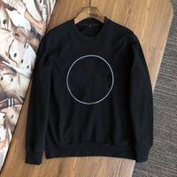 Роскошный персонаж Вышитые аватарные круглые шеи толстовки пуловер высококачественный бутик модный дизайнер растягивающую хлопчатобумажную ткань теплый верх