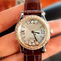 Новая мода наручные часы классический топ де дизайн часы браслет люкс бриллианты леди счастливая кожа подлинное качество монтр женские спорты рельс ajgm