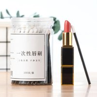 Makeup Brushes 100Pcs kit Disposable Lip Brush Eyelash Lashes Extension Tools