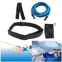 Swim Training Belts Bungee Cords Resistance Bands Tether Stationary Swimming Harness Static Belt Set Pool & Accessories