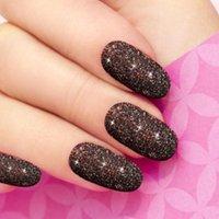 Nail Art Kits 12 Natürliche Farben Kristall Flashed Pulver Safe Glitter Hochwertiges Material Geeignet für Handwerkskleidung