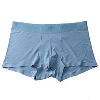 Printemps et été Populaire 80 Blue Fine Sous-Vêtements Sous-vêtements sans soudure 3D Boxers